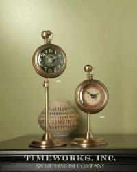 Pocket Watch Woodburn Clock by
