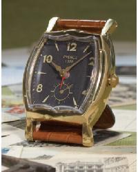 Wristwatch Alarm Square Pierce Clcok by