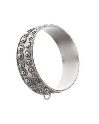 Handcrafted Metal Curtain Ring Antique Silver 42 by