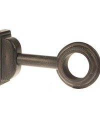 Adjustable Curtain Rod Bracket Onyx 37 by