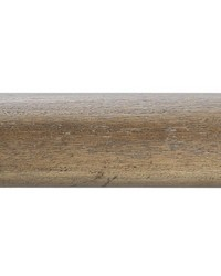 4ft 2inD Plain Wood Curtain Rod Driftwood 38 by