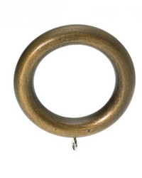 Plain Wood Curtain Ring Royal Bronze 08 by