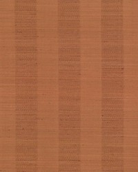 Kasmir Anantara Stripe Burnt Orange Fabric