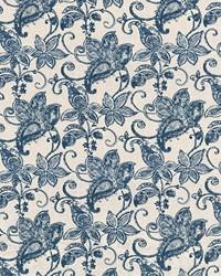 Batik Floral Batik Blue by