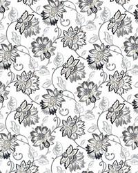 Grey Jacobean Fabrics  Brookmere Slate