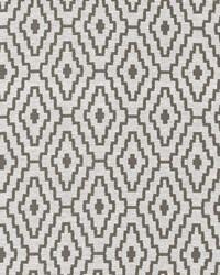 Grey Classic Paisley Fabric  Cabruna Slate