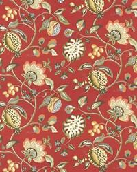 Cadence Floral Scarlet by