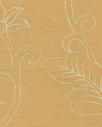 Gold Jacobean Fabrics  Capone Gold