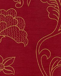 Purple Jacobean Fabrics  Capone Wine