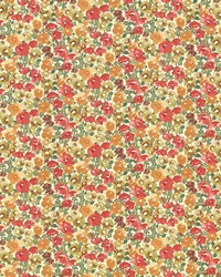 Kasmir Carillon Garden Poppy Fabric