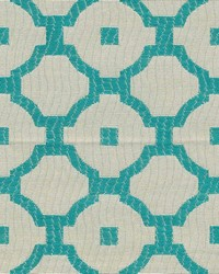 Chang Trellis Turquoise by