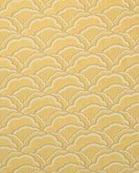 Brown Oriental Fabric  Cloudburst Buttercup