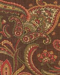Brown Jacobean Fabrics  Comfort Espresso