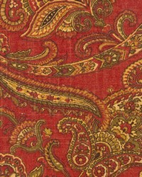 Multi Jacobean Fabrics  Comfort Rouge