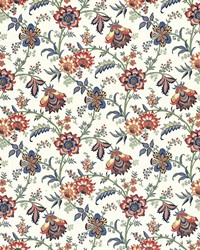 Multi Jacobean Fabrics  Dougherty Jewel