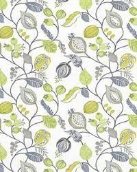 Multi Jacobean Fabrics  Gardens Edge Mimosa