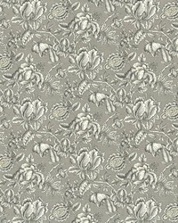 Black Jacobean Fabrics  Howell Park Graphite