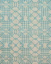 Hunan Linen Turquoise by