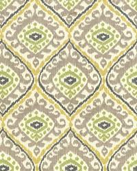 Multi Trellis Diamond Fabric  Jacaranda Citrus