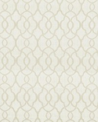 Beige Trellis Diamond Fabric  Mercantile Ivory