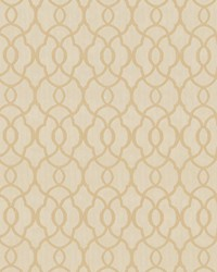 Beige Trellis Diamond Fabric  Mercantile Linen