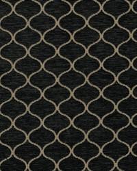 Black Trellis Diamond Fabric  Ogee Trellis Black