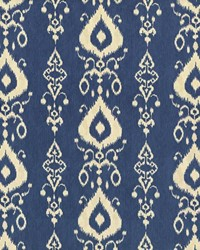 Multi Trellis Diamond Fabric  Raga Ikat Bay