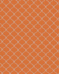 Rixford Trellis Tangerine by