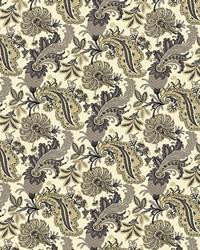 Multi Jacobean Fabrics  Ruchi Garden Cornsilk
