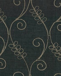 Black Trellis Diamond Fabric  Tinedale Ebony