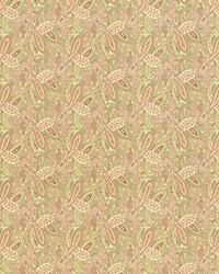 Multi Classic Paisley Fabric  Willow Paisley Nectar