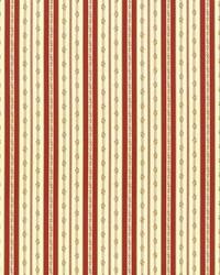 Willow Stripe Crimson by