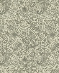 Graphic Paisley Grey by