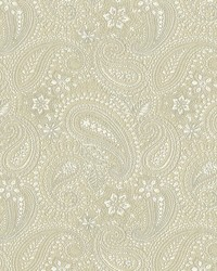 Graphic Paisley White by
