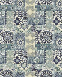 Gypsy Quilt Indigo by