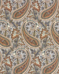 Parisi Paisley Persimmon by