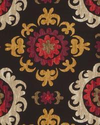 Black Print Studio Global Influences Fabric Fabricut Fabrics Trenton Onyx