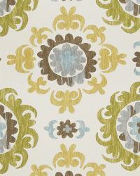 Green Print Studio Global Influences Fabric Fabricut Fabrics Trenton Citrine