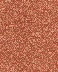 Orange / Spice Isabelle De Borchgrave Fabric  Context Chili