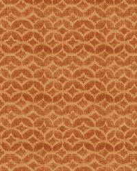 Orange / Spice Isabelle De Borchgrave Fabric  Couture Velvet Canyon