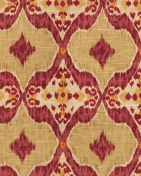 Pink Isabelle De Borchgrave Fabric  Nomadic Mulberry