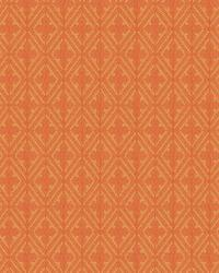 Orange / Spice Isabelle De Borchgrave Fabric  Sablon Canyon