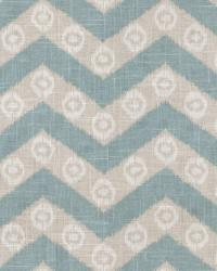 Lt Blue Isabelle De Borchgrave Fabric  Chevron Kimono Mist