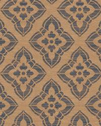 Blue Isabelle De Borchgrave Fabric  Stucco Diamond Batik