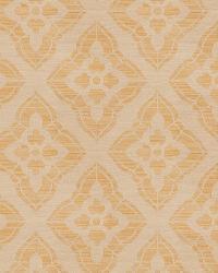 Gold Isabelle De Borchgrave Fabric  Stucco Diamond Mustard