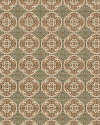 Aqua / Teal Oriental Fabric  Nobu Oasis