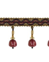 Red Beaded Trim  03216 Baroque