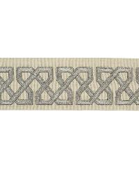 English Fret Platinum by  Vervain Trim
