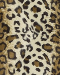Brown Animal Print Faux Fur Fabric  DU15867 10 BROWN