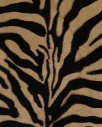 Beige Animal Print Faux Fur Fabric  DU15868 600 BLACK/CAMEL